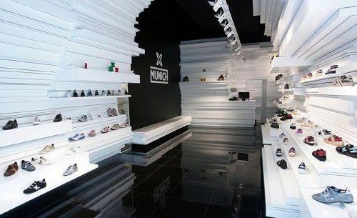 Store Design : Munich Sports Barcelona