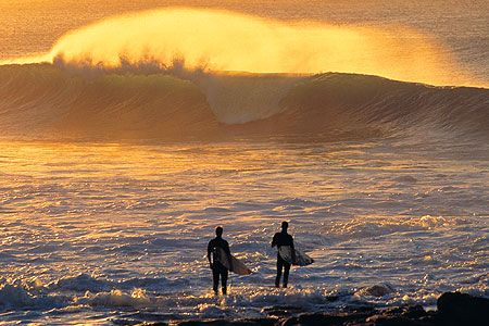 J-Bay, South Africa. The most consistent waves in the world. A surfer's delight.