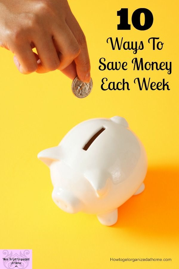Do you know how to save money each week? How to cut costs each week without taking drastic action! These are great ways to save small amounts of money each week! With the cost of living rising saving money wherever you can is important!