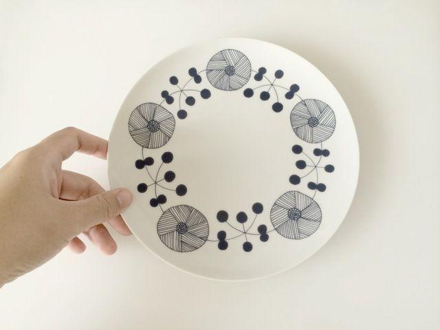 【new】北欧柄のお皿 2【再販】