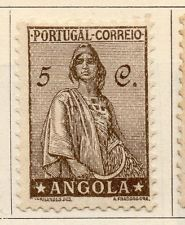 Angola 1932 Early Issue Fine Mint Hinged 5c. 105749