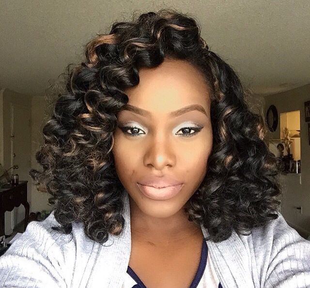 Crochet Braids Middle Part : Crochet braids