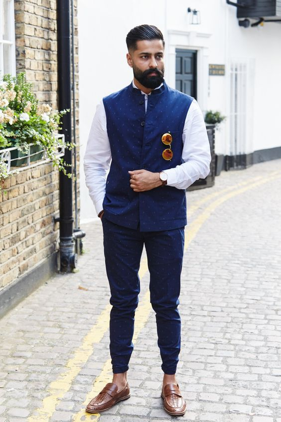 ec305ae8415 How To Style Printed Nehru Jacket Like A True Royalty