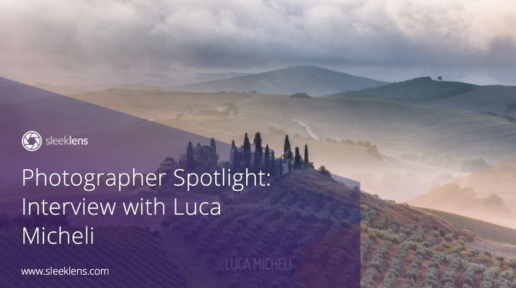 Photographer Spotlight: Interview with Luca Micheli