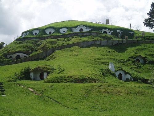 New Zealand and the Peter Jackson's Hobbit Shire in the Waikaton region.