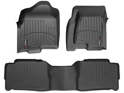 2012 Toyota Tacoma | WeatherTech FloorLiner - car floor mats liner, floor tray protects and lines the floor of truck and SUV carpeting from mud, snow, water and dirt | WeatherTech.com