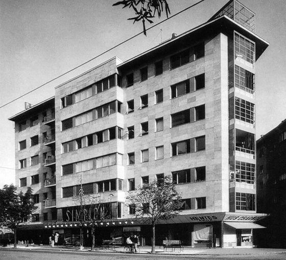 Simplon Building, Budapest 1934
