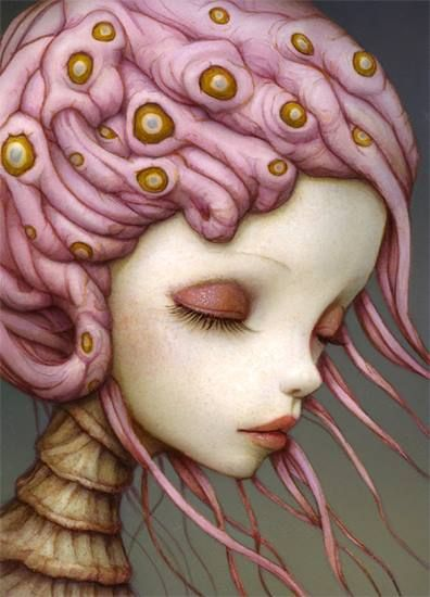 beautifulbizarremag:  Naoto Hattori  Naoto Hattori, Pop surrealism.  On Facebook(Please, don't remove the authorship of the image.)