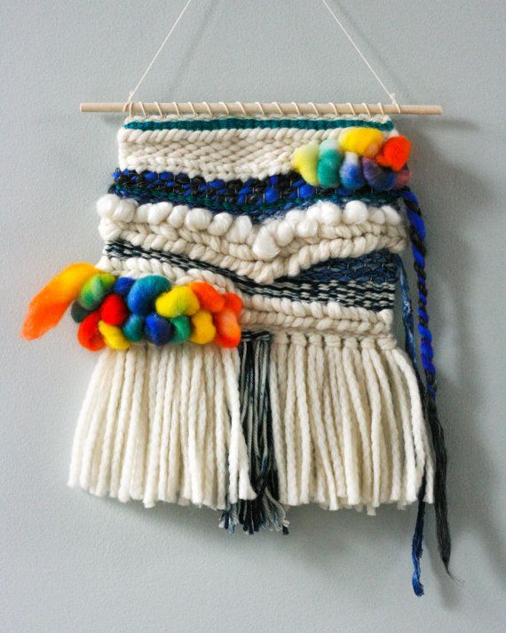 Balloons Wall Hanging  https://www.etsy.com/listing/230880725/balloons-woven-wall-hanging-weave-home