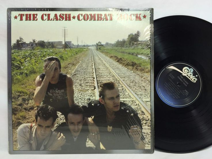 The Clash Combat Rock in-shrink US Masterdisk 2A/3E Pressing LP #Vinyl Record