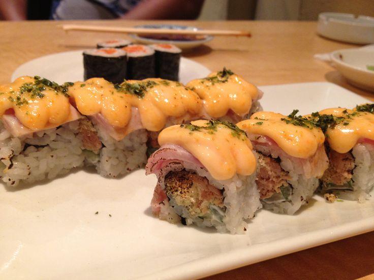 Aburi Mentai sushi