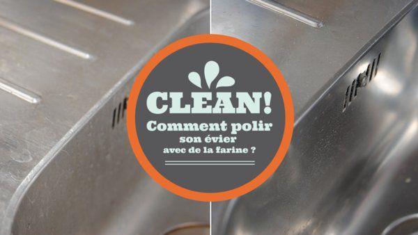 Comment polir un évier avec de la farine http://www.deco.fr/cuisine/actualite-729465-comment-polir-evier-inox-farine.html
