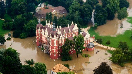 Bad Muskau: Hochwasser gefährdet Unesco-Weltkulturerbe