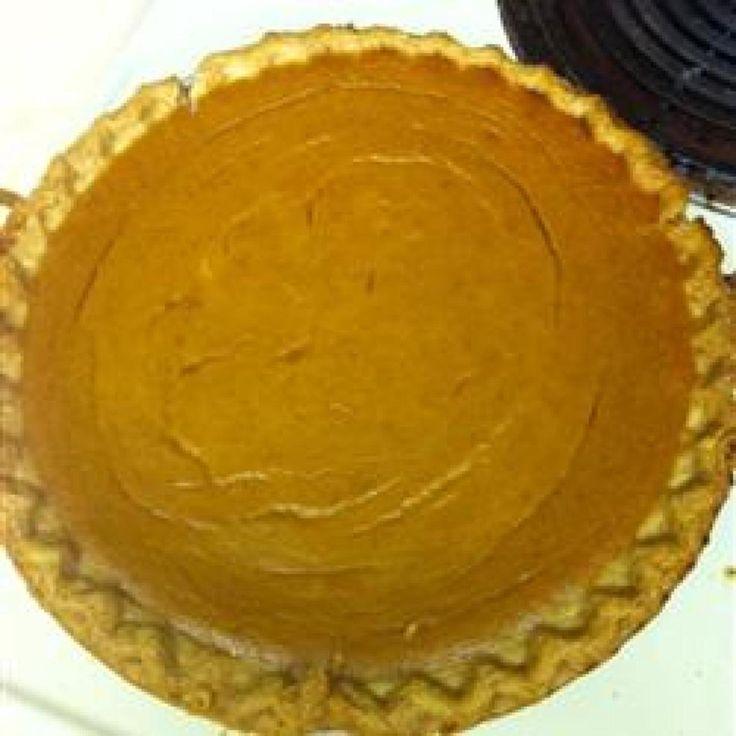 Pumpkin Custard Pie   Sweet Thing   Pinterest