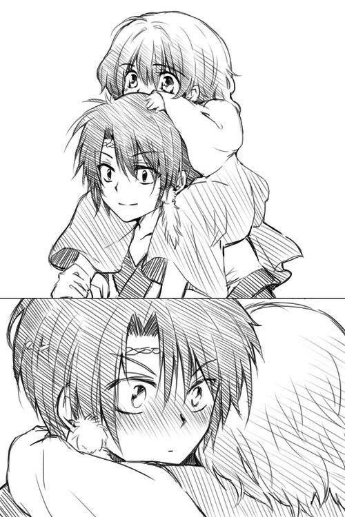 [Akatsuki no Yona] ❤ Yona and Hak as children