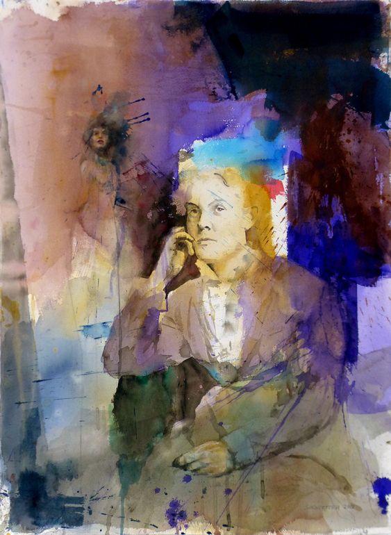 Stig O. Sivertsen ~ It is what it is, 2013 (watercolor)