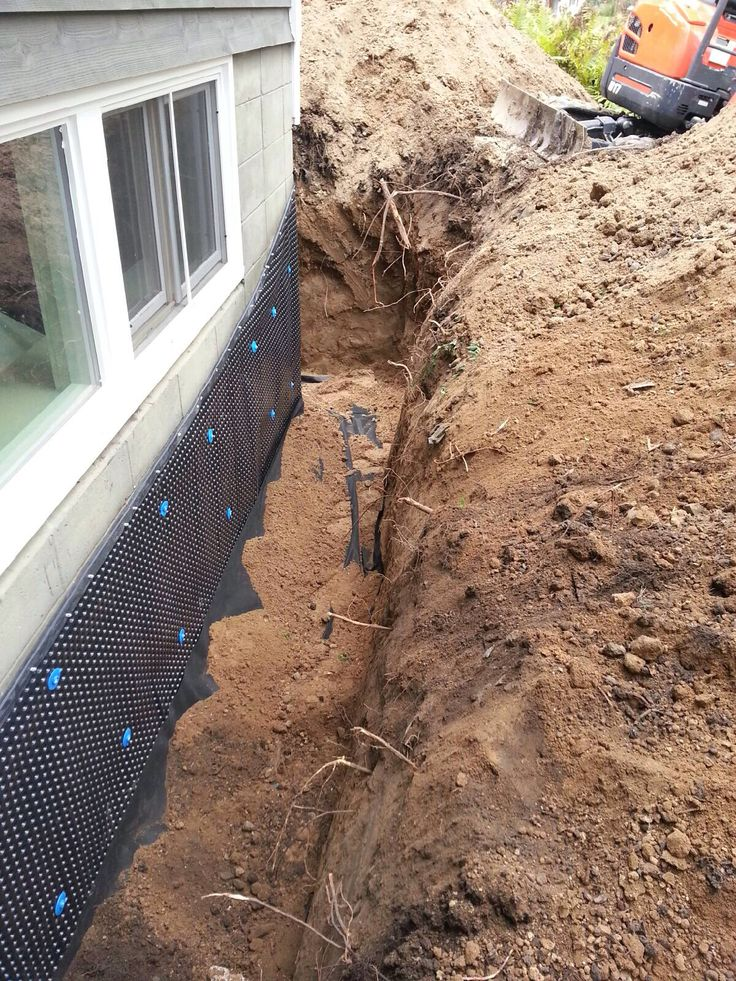 17 Best Images About Exterior Drain Tile Systems On Pinterest Drain Tile Basement