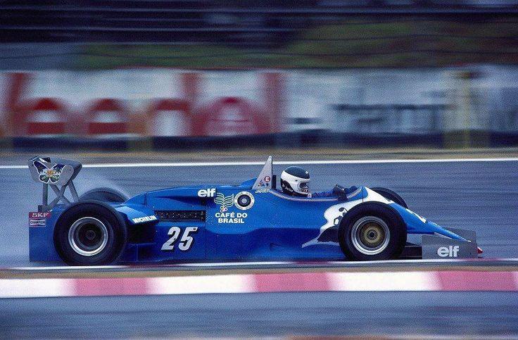 Jean-Pierre Jarier, Gitanes Ligier-Ford JS21, 1983 German Grand Prix, Hockenheimring