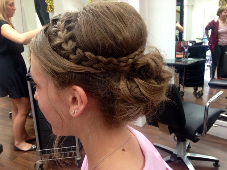 Upstyle / formal hair / braid by AmberD @ subehair