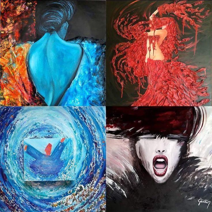 Gallerymak.com sanatçısı Gülbin Nurgeç'in #figüratif ve #soyut resimlerini keşfedin!  Explore the #figurative and #abstract #paintings of Gallerymak.com #artist Gulbin Nurgenc!  http://gallerymak.com/tr/sanatci/gulbin-nurgenc/128/  #gallerymak #sanat #ressam #gununkaresi #gününkaresi #gununfotografi #cool #heykel #müze #cizim #masterpiece #contemporaryart #contemporary #abstractart #soyutresim #expressionism #painting #atölye #desen #worldofart #art #instaart #instaturk #artbasel…