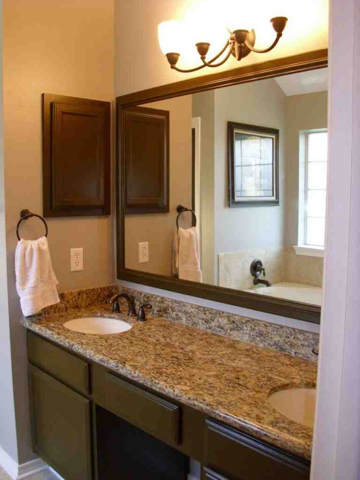 291 Best Bathroom Mirrors Images On Pinterest  Bathroom Ideas Fascinating Large Bathroom Vanity Mirrors Review