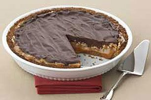 Ultimate Chocolate Caramel Pecan Pie Recipe - Kraft Recipes. My Aunt makes this and it is INCREDIBLE.
