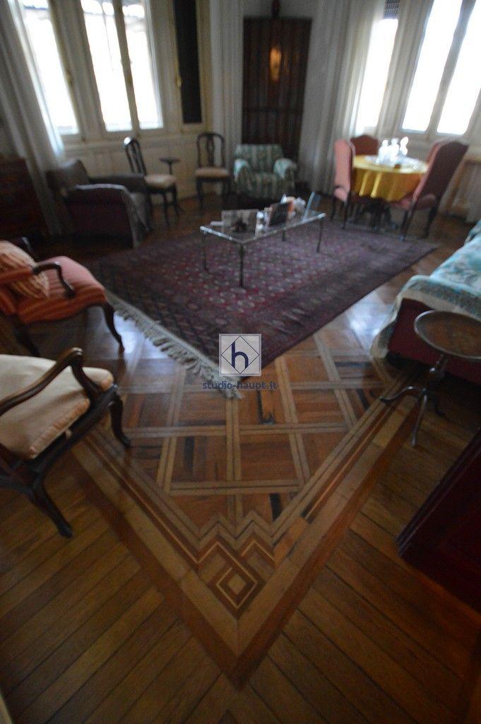 #woodfloor #oldparquet #texture   Prestigioso appartamento Albaro • Vendita Genova • Studio Haupt