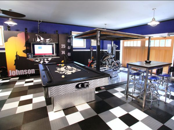 Man Cave Garage Addition : Best images about man cave ideas on pinterest
