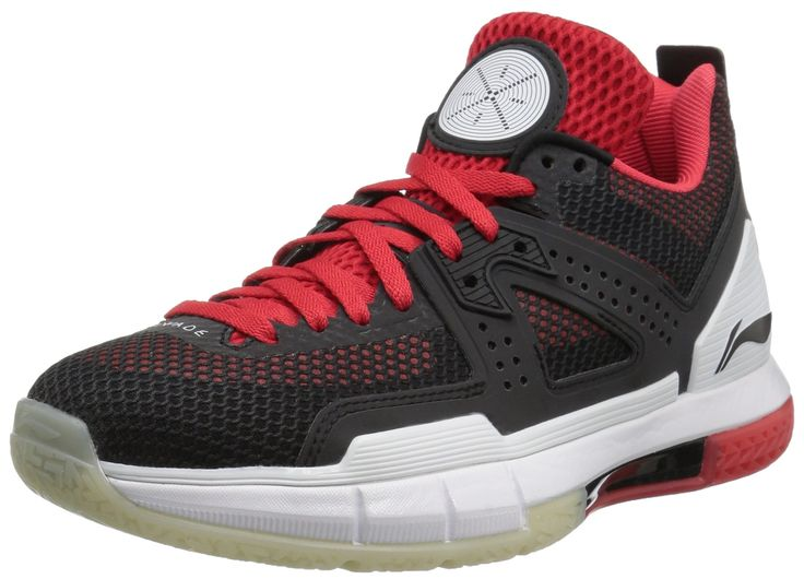 Way of Wade Men's Wow 5 Announcement Basketball Shoe, Black, Red, White, 11 M US