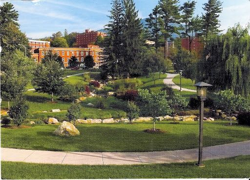 Appalachian State University Campus Places to fall in