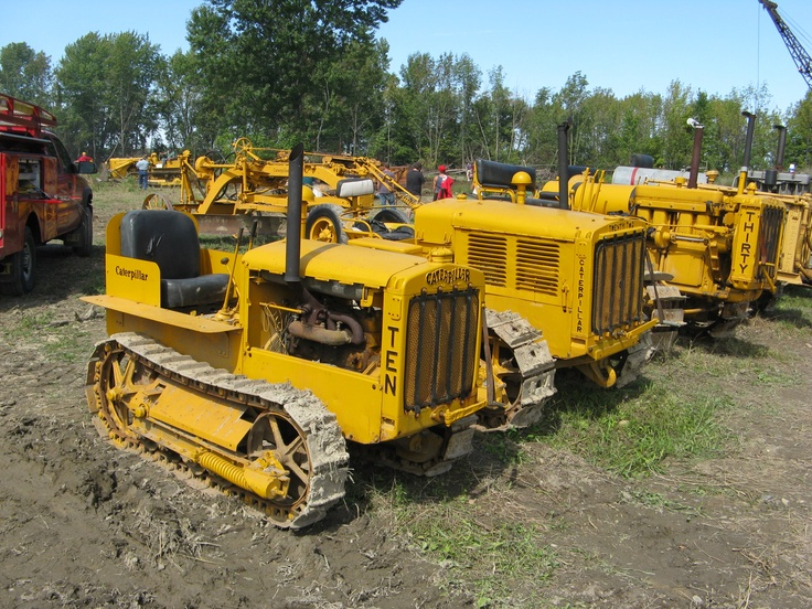 Old Heavy Equipment : Old cat equipment bing images