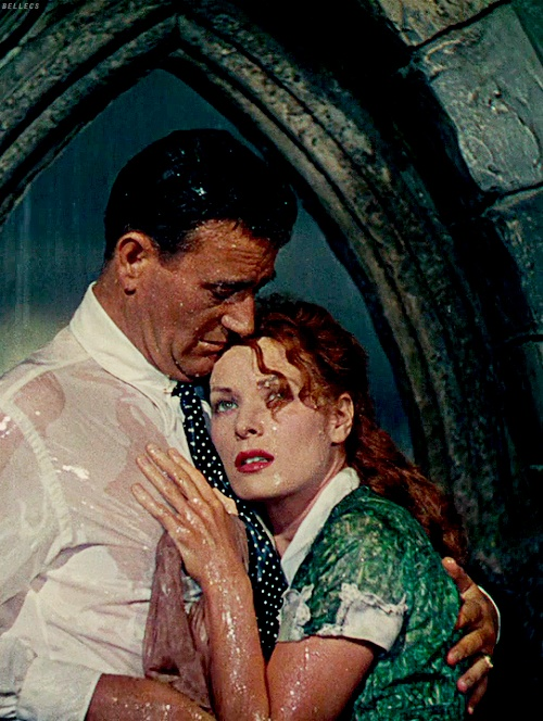 THE QUIET MAN (1952) - John Wayne & Maureen O'Hara - Directed by John Ford - Republic Pictures.