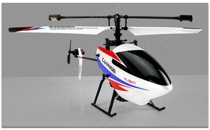 WLtoys V911-pro V911-V2 2.4G 4CH RC Helicopter BNF - US$21.99