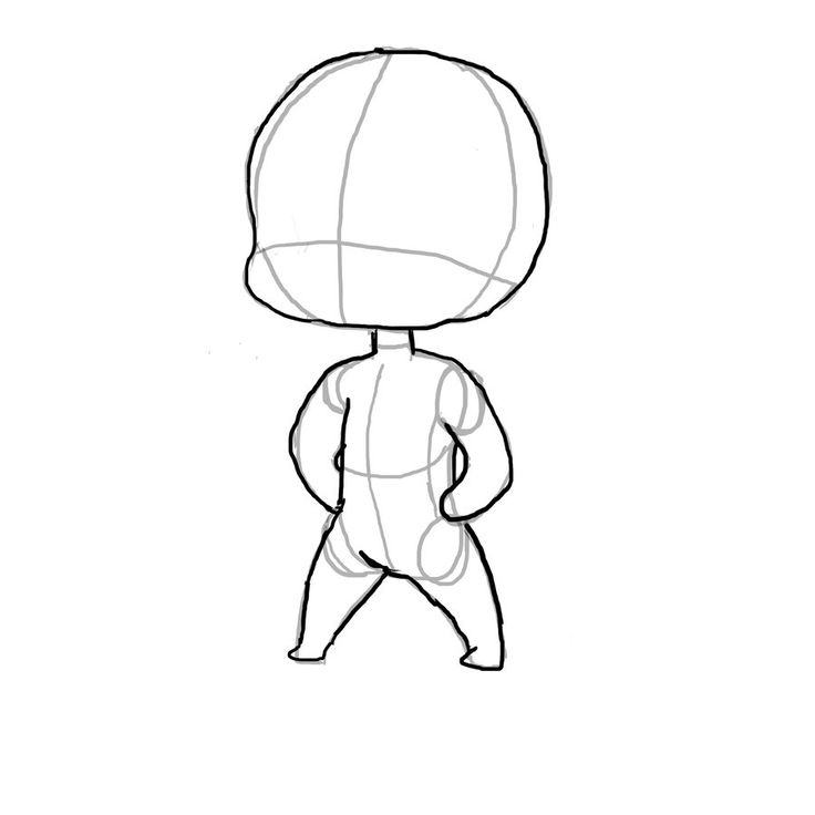 How to draw chibi bodies google search art refs for How to draw a body step by step