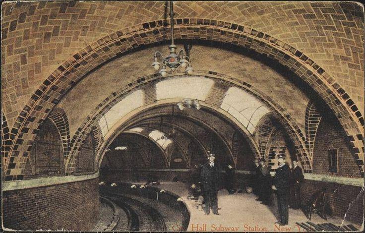 City hall subway station