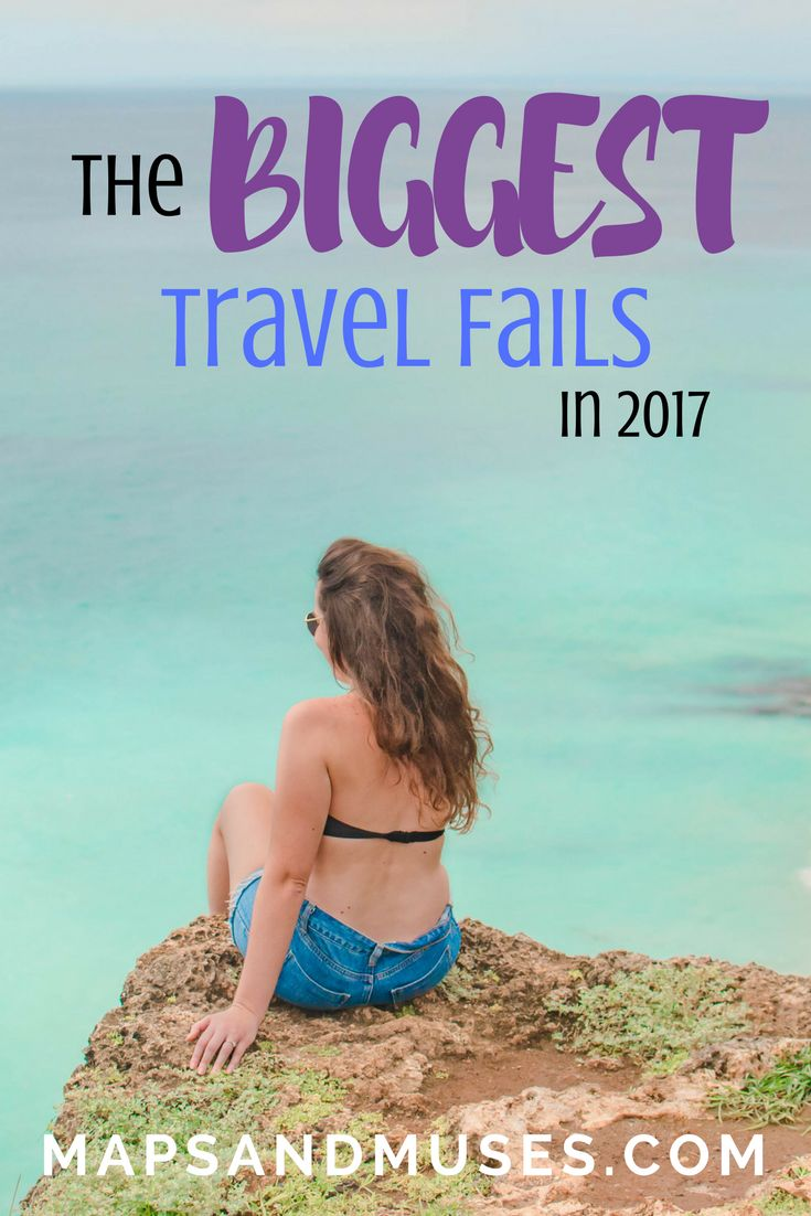 Travel isn't always perfect. But it is full of amazing memories and lessons to learn around every corner. Check out my biggest travel fails in 2017 and what I learned from each one. | Travel | Travel Tips | Travel Fails | Travel Inspiration | Travel Destinations | Lessons Learned | #traveltips #travel #traveling #travelblog via @mapsandmuses