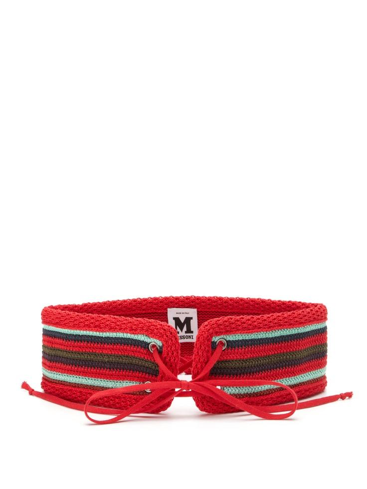 Crocheted Belt by M Missoni