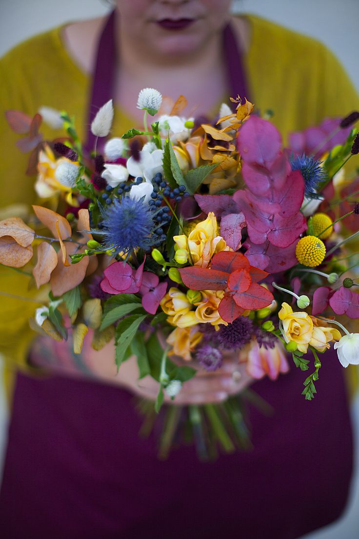 © Mint & Sweet Pepper - Atelier de jolies fleurs   Bouquet Multicolore