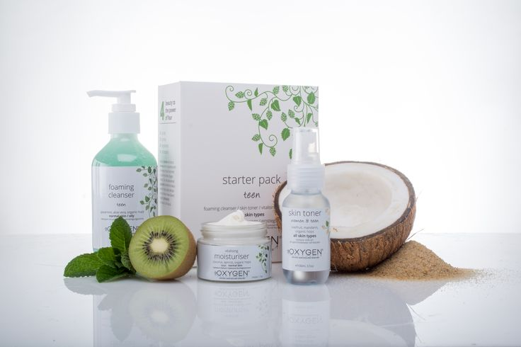 This pack is full of goodies for anyone needing a kick start to their skincare routine. The starter pack contains a minty fresh foaming cleanser, great for normal and combination skin, a PH balancing skin toner and a yummy coconut scented vitalizing moisturizer.