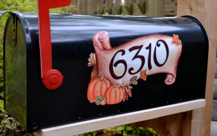 44 Best Mailbox Covers Images On Pinterest