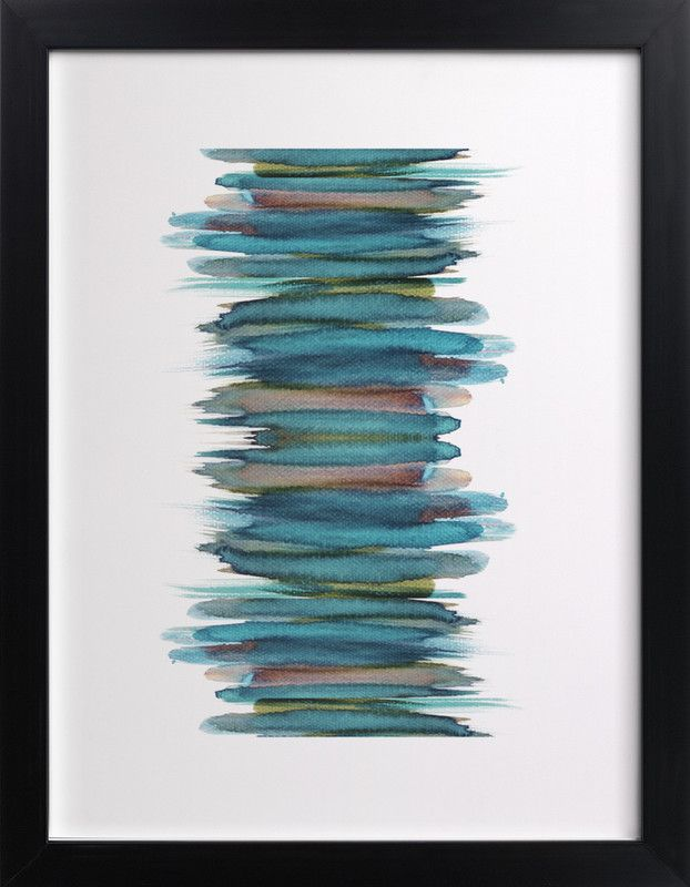 Click to see 'Abstract Brushstrokes' on Minted.com