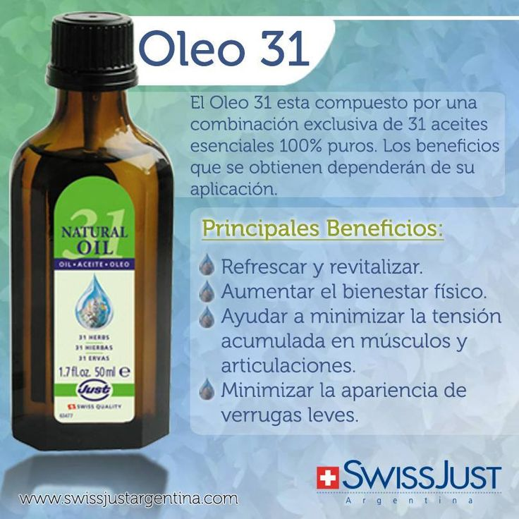 Oleo 31 de 50ml