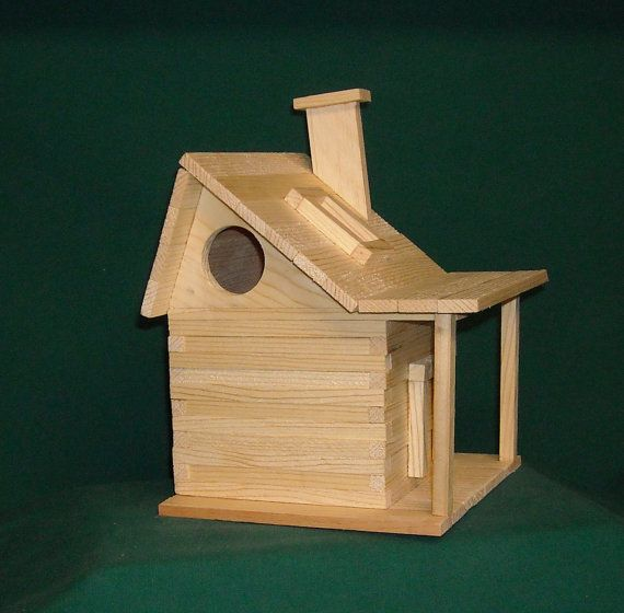 Country House Bird House Kit by alanjohnston on Etsy