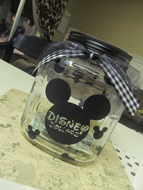 Going to do this for our November Disney trip: Save Jars, Good Ideas, Disney World, Cute Ideas, Disney Trips, Disney Vacations, Great Ideas, Money Jars, Kid