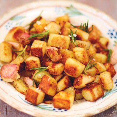 Jamie Oliver HomeCooker recipes; Crispy rosemary potatoes