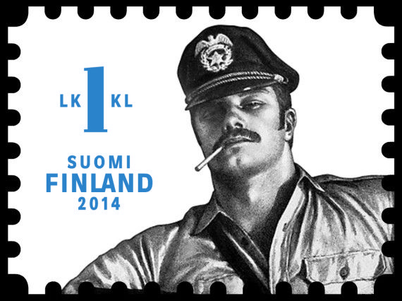 Tom of Finland stamps (2014)