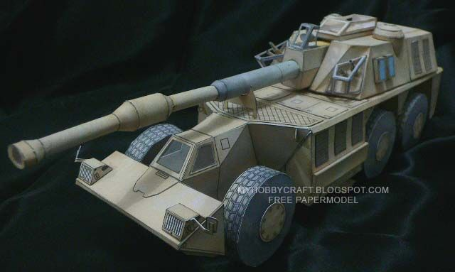 Search results for vehicle - Papercraft4u | Free Papercrafts, Paper Toys, Paper Models, Gratis The G6 Rhino is fitted with a 155-mm gun-howitzer, developed from the G5 towed gun-howitzer and additionally fitted with semi-automatic loading system and fume extractor.