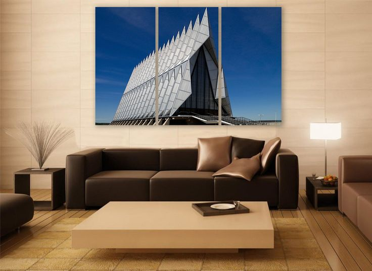 air force academy canvas print 3 panels print wall decor wall art abstract art photography print art force office decoration