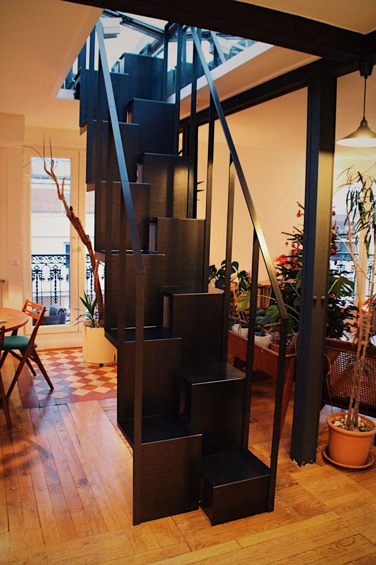 Les 25 meilleures idées de la catégorie Escalier japonais sur ...