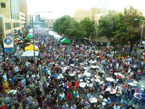 Thursdays on First & Third is one Rochester event you do not want to miss! This weekly outdoor festival is full of vendors and comes alive with the people and music!